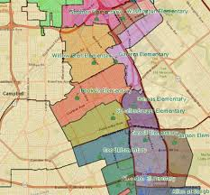 san jose unified map san jose willow glen schools siliconvalleymls