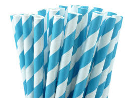 paper straws home party supplies straws striped paper straws