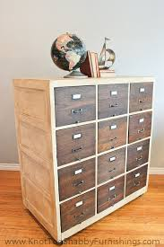 Antique Wood File Cabinet Vintage Wood File Cabinet Knot Too Shabby Furnishings