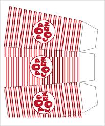 15 best popcorn box templates free u0026 premium templates