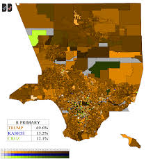 Los Angeles County Map by Los Angeles County 2016 Precinct Maps U2013 Decision Desk Hq