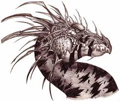 sketch black dragon by teggy on deviantart