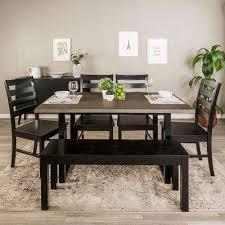 wood dining room sets kitchen dining room furniture furniture the home depot
