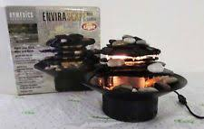 Tabletop Rock Garden Homedics Envirascape Rock Garden Tabletop Relaxation Ebay