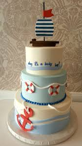 nautical baby shower cakes nautical baby shower ideas decoration home decor and furniture