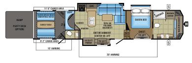 Fuzion Toy Hauler Floor Plans 5th Wheel Toy Hauler Floor Plans Home Design Ideas And Pictures