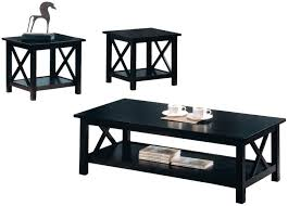 coffee table modern round black glass small target home design