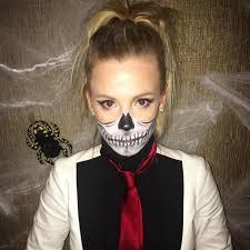 comment faire un maquillage de squelette 14 idées de costumes d u0027halloween de dernière minute