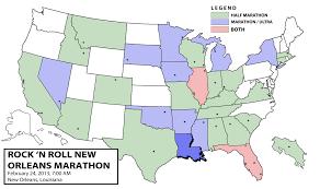 New Orleans Louisiana Map by State 30 Louisiana 2013 Rock U0027n Roll New Orleans Marathon