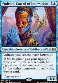 mono blue artifacts edh commander deckstats net magic the