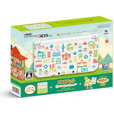 nintendo 3ds ll doubutsu no mori happy home designer pack