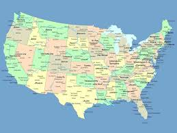map of dc universe usa usa map of states and cities
