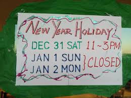 And New Year Holidays In The Sun 2017 New Year Opening Hours Picture Of Burger Shake 8