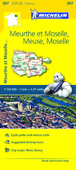 moselle moselle local map meuse moselle michelin maps guides