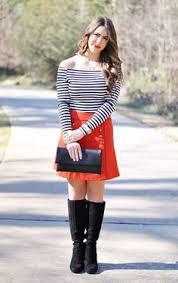 Nautical Theme Fashion - candy striped dress rainbow dress color striped dress house of