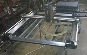 cnc plasma cutting table plasma table