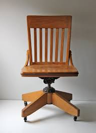 antique wood office chair wood office chair plans chairs casters for with wheels without antique swivel