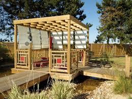 tonnelle de jardin en bois pergola jardin bois