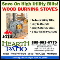 Hearth And Patio Knoxville Tn The Knoxville News Sentinel Tn Business Directory Coupons