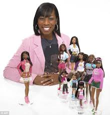 barbie launch black doll painted version