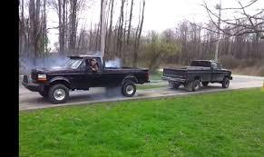 ford truck diesel engines ford 7 3 diesel versus ford 460 gas in truck pull