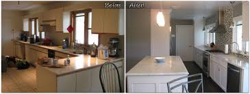 Kitchen Remodel Before After by Renovation In Florham Park Nj Monk U0027s Home Improvements