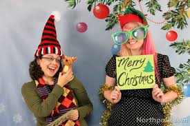 party photo booth craft cottage diy christmas party photo booth