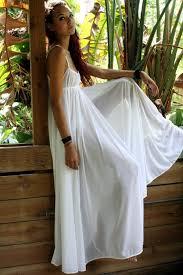 Cheap Wedding Lingerie Grecian Goddess Bridal Nightgown Wedding Lingerie White Nylon 246