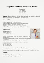 Resume Examples For Pharmacy Technician by 100 Sample Resume Pharmacist Sample Resume Pharmacist Malaysia