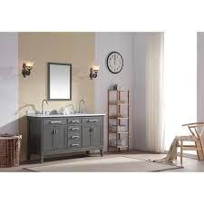 ari kitchen and bath danny 60 inch double bathroom vanity set