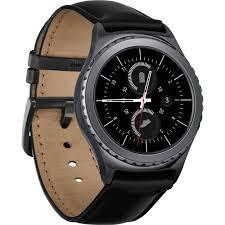 classic samsung gear s2 classic smartwatch black sm r7320zkaxar b u0026h