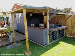 the bbq shed unexpected from bottom of garden shedoftheyear