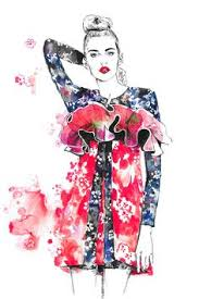 image illustrations fashion illustrations and fashion sketches