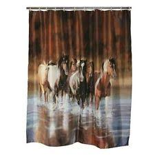 bathroom shower curtain set ebay