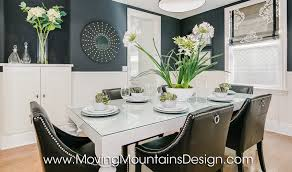 Los Angeles Home Stager Moving Mountains Design Los Angeles - Dining room staging