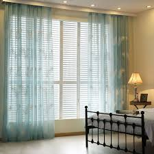 Curtains At Home Goods Aliexpress Buy Embroidered Linen Sheer Curtains For Living In Home