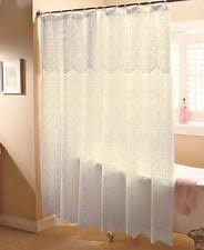 Lace Shower Curtains Sheer Lace Shower Curtains Ebay