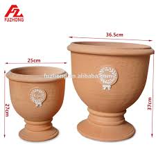 garden large terracotta pots hand made out door flower pot buy