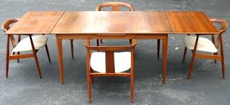 mid century dining room table mid century modern dining table set sillyroger com