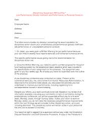 10 best images of disciplinary letter samples employee
