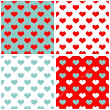 blue pattern background html tile pastel hearts vector background set full of love white blue