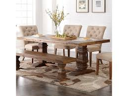 Double Pedestal Dining Room Tables New Classic Normandy Dining Table With Double Pedestal Base