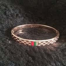 bangle bracelet box images Gucci bracelet bronze gold bangle clip gucci bronzed not real jpg