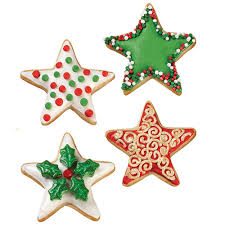 christmas star cookies wilton