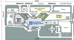 Utsw Campus Map Baylor Heart And Vascular Hospital Directions Dallas Campus Map