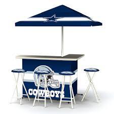 Dallas Cowboys Table Best Of Times Indoor Outdoor Nfl Portable Bar Hayneedle