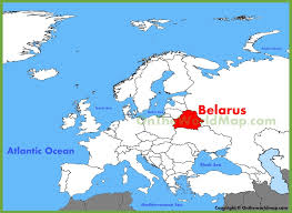 map of belarus belarus maps maps of belarus