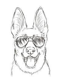 coloring pages cool easy drawings dogs cartoons cartoon