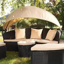 canape de jardin canapé de jardin rond modulable achat vente salon de jardin