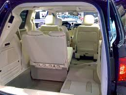 volkswagen minivan routan vw routan interior shows the third row partially stowed 6 u2026 flickr